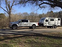ready to roll, leaving McKinney Falls SP.