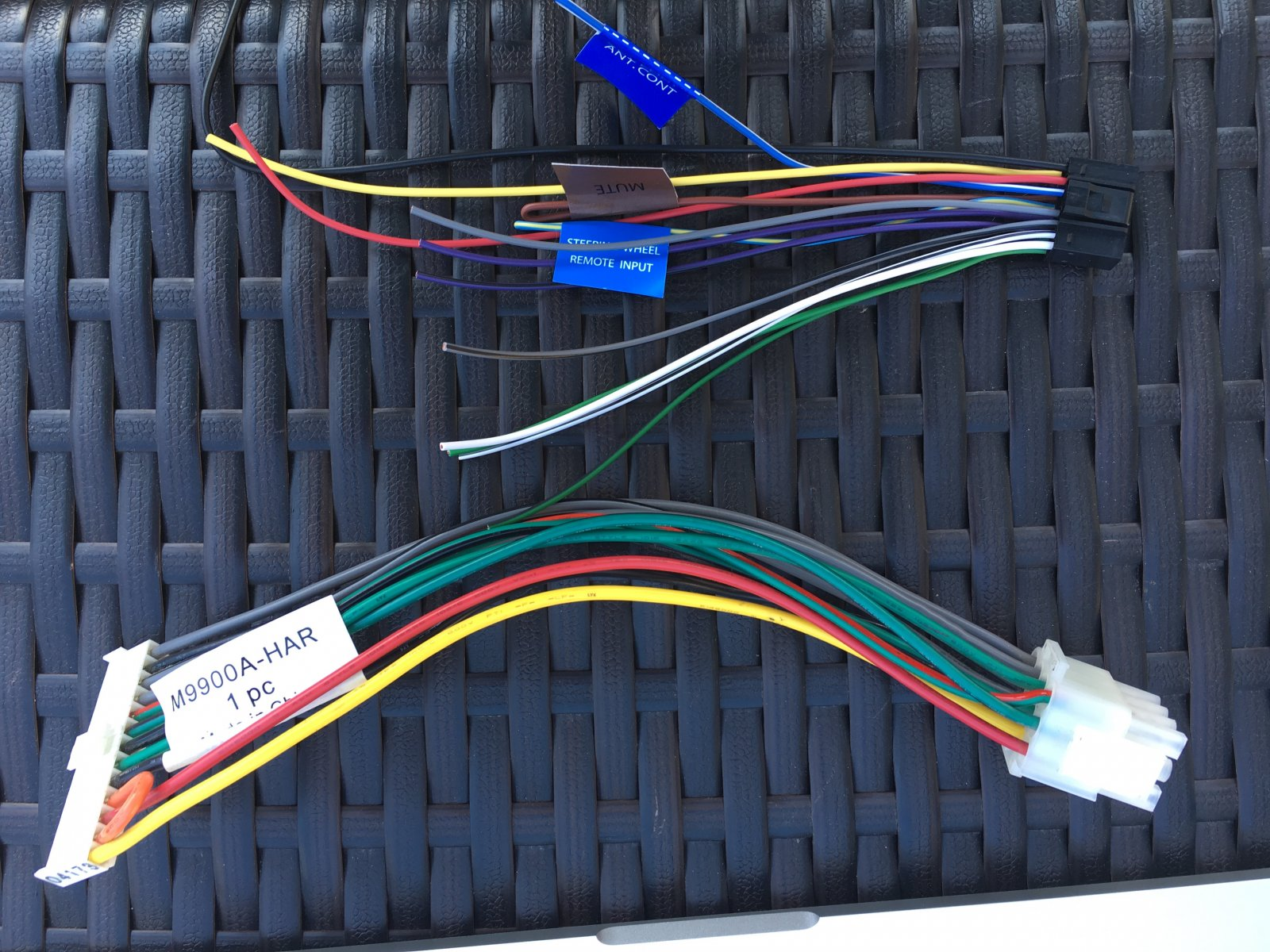 Replacing in dash stereo in 2005 Sightseer - Winnebago Owners Online  Community | Winnebago Car Stereo Wiring Harness |  | Winnebago Owners