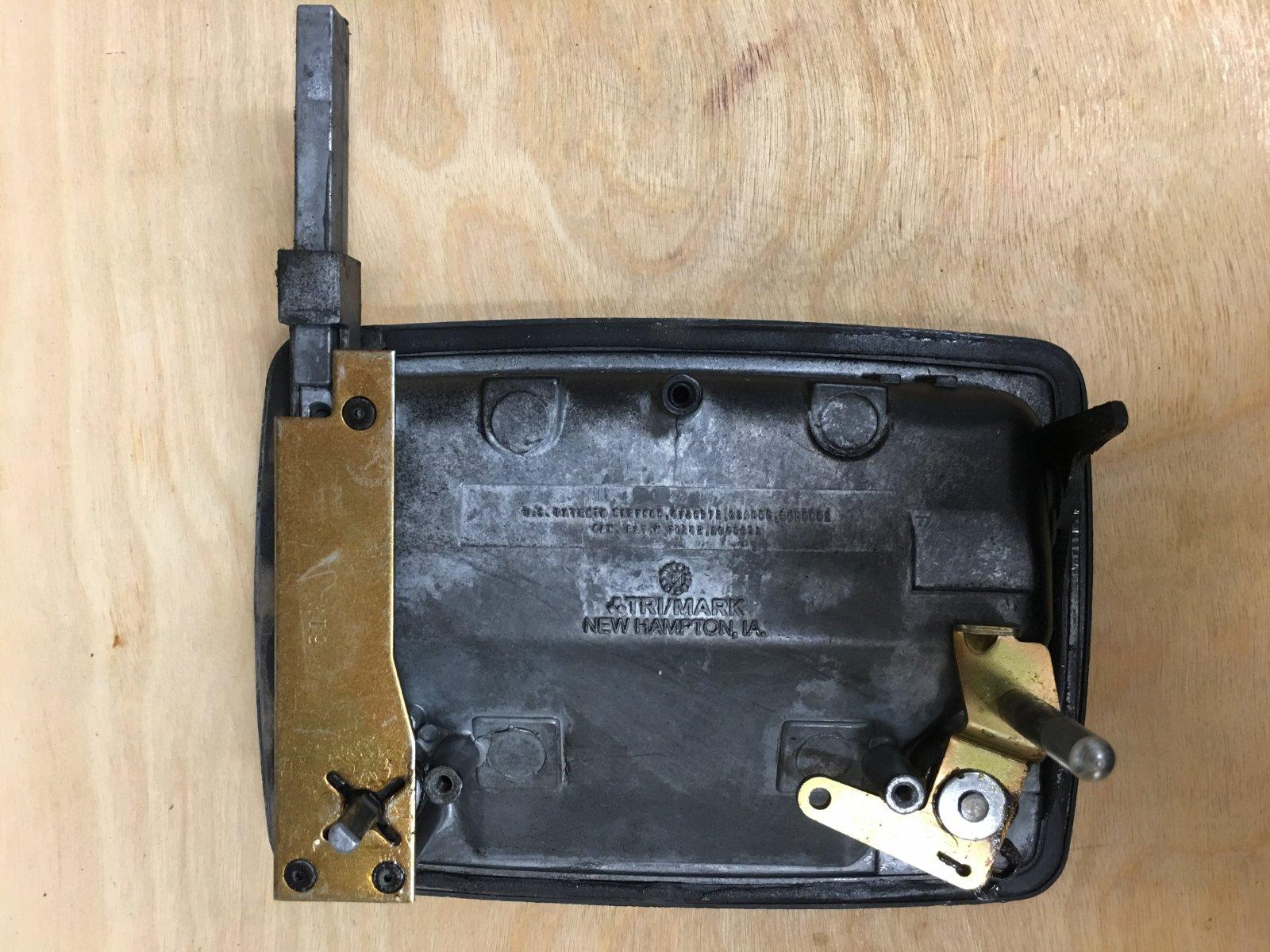 Replaced my TriMark 030-0900 entry door & dead-bolt lock hardware