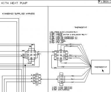 heat pump wiring diagram view show me your fancy thermostat for coleman 2 ton basement ac with  for coleman 2 ton basement ac with