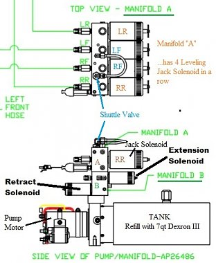 Click image for larger version  Name:HWH Pump Manifold 'A'  (Side view).jpg Views:10 Size:71.9 KB ID:175361