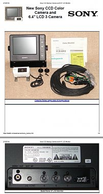 Click image for larger version  Name:Sony 7in Back-Up Camera System.jpg Views:5 Size:233.4 KB ID:175914