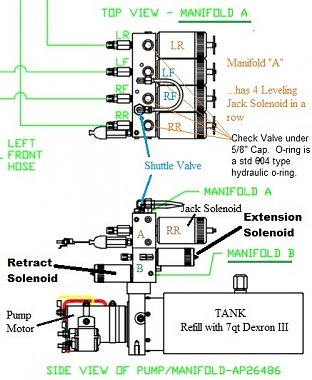 Click image for larger version  Name:HWH Pump Manifold 'A'  (Side view).jpg Views:11 Size:80.7 KB ID:178348