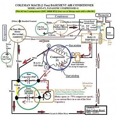Click image for larger version  Name:1 Coleman #6535-671 Wire Diagram (OEM) Hard Start Kit .jpg Views:9 Size:243.6 KB ID:179320