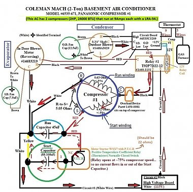 Click image for larger version  Name:1 Coleman #6535-671 Wire Diagram (OEM) Hard Start Kit .jpg Views:10 Size:243.6 KB ID:179667