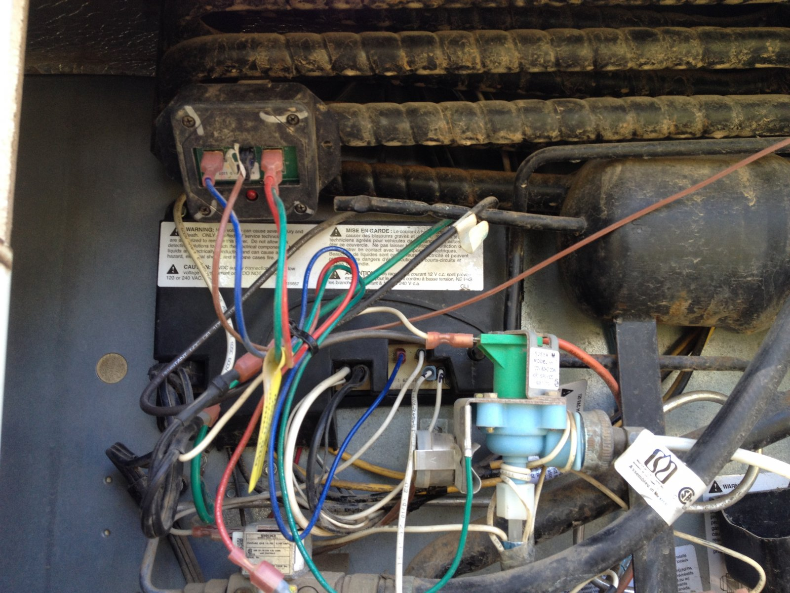 Chris Craft Wiring Diagram Just Wirings Norcold Refrigerator Fuse Location Air Conditioner A15602 Restoration